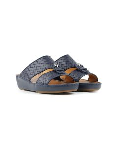 Interlaced Leather Sandals